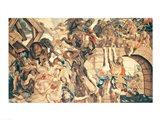 Battle of Pons Milvius Art Print