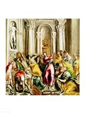 Jesus Driving the Merchants from the Temple Art Print