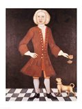 Portrait of Jonathan Bentham, c.1725 Art Print