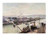 Saint-Sever Port, Rouen, 1896 Art Print