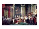 The Consecration of the Emperor Napoleon II Art Print