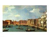 View of the Canal of Santa Chiara, Venice Art Print