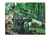 The Bridge at Maincy Art Print