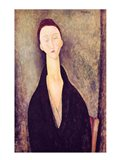 Madame Hanka Zborowska, 1918 Art Print