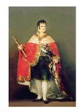 Portrait of Ferdinand VII Art Print