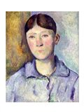 Portrait of Madame Cezanne, 1885-90 Art Print
