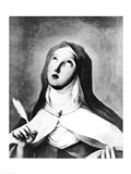 St. Theresa of Avila Art Print