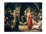 Dance of the Handkerchiefs, 1849 Art Print
