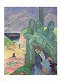 The Green Christ Art Print