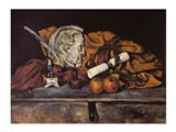 Still Life of the Artist's Accessories, 1872 Art Print