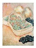 The Basket of Grapes, 1884 Art Print