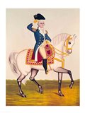 General Washington on a White Charger Art Print