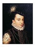 Portrait of Francois Hercule de France Duc d'Alencon Art Print