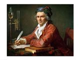 Portrait of Alphonse Leroy, 1783 Art Print