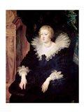 Portrait of Anne of Austria Art Print