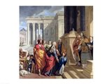 Presentation of the Virgin in the Temple Art Print