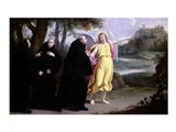 Scene from the Life of St. Benedict Art Print