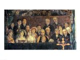 The Consecration of the Emperor Napoleon and the Coronation of the Empress Josephine, Crowd Detail Art Print