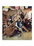 The Garden of Earthly Delights: Right Side, Hell Art Print