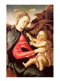 The Virgin and Child (Madonna of the Guidi da Faenza) c.1465-70 Art Print
