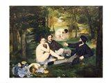 Dejeuner sur l'Herbe, 1863 Art Print