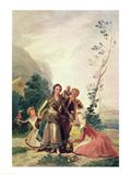 Spring, 1786 Art Print