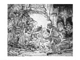 Nativity, 1654 Art Print