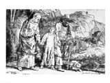The Return from Egypt, or Jesus Christ Taken Back from the Temple, 1649 Art Print