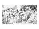 Jesus Christ among the Doctors Art Print