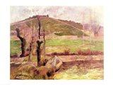 Landscape near Pont-Aven, 1888 Art Print