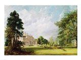 Malvern Hall, Warwickshire, 1821 Art Print