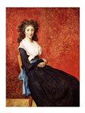 Portrait of Madame Charles-Louis Trudaine Art Print