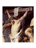 Christ Between the Two Thieves, 1620 - up close Art Print