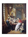 The Afternoon Meal, 1739 Art Print