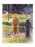 Bonjour, Monsieur Gauguin, 1889 Art Print
