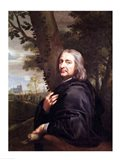Portrait of Philippe de Champaigne, 1668 Art Print