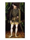Portrait of Henri II Art Print