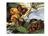 Dejeuner sur l'Herbe, 1863 (fruit detail) Art Print