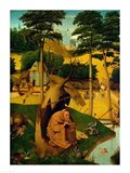Temptation of St. Anthony, 1490 Art Print