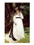 Portrait of Lise, 1867 - standing Art Print