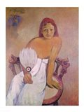 Girl with fan, 1902 Art Print