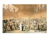 The Tennis Court Oath, 20th June 1789 Art Print