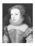 Marguerite de Valois Queen of Navarre Art Print
