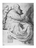 The Prophet Zacharias, after Michangelo Buonarroti Art Print