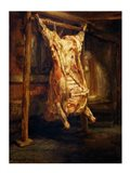 The Slaughtered Ox, 1655 Art Print