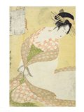 Courtesan Kneeling Art Print