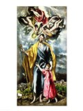 St. Joseph and the Christ Child Art Print