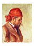 Portrait of Ambroise Vollard Art Print