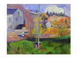 Brittany Landscape: the David Mill, 1894 Art Print