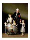 The Duke of Osuna and his Family, 1788 Art Print